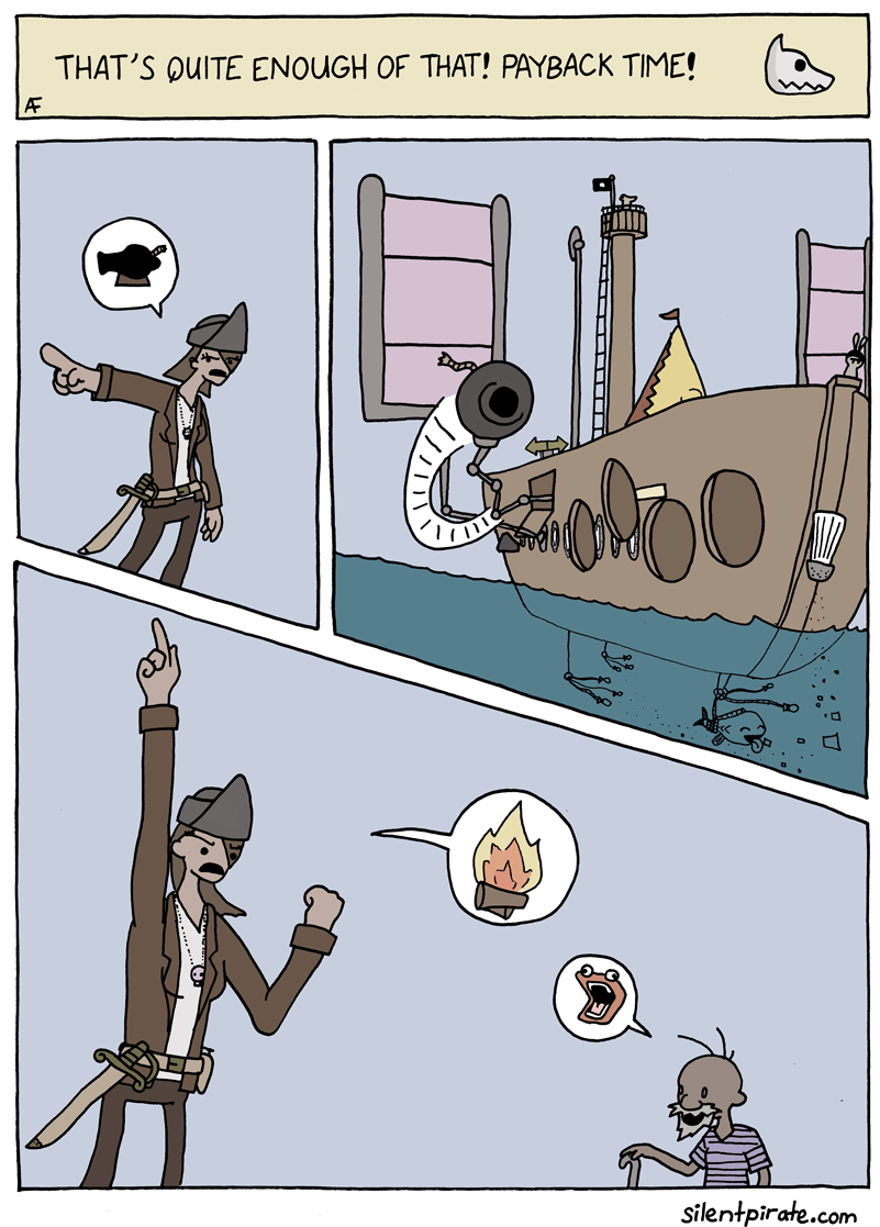 Silent Pirate, Chapter 3, Page 4