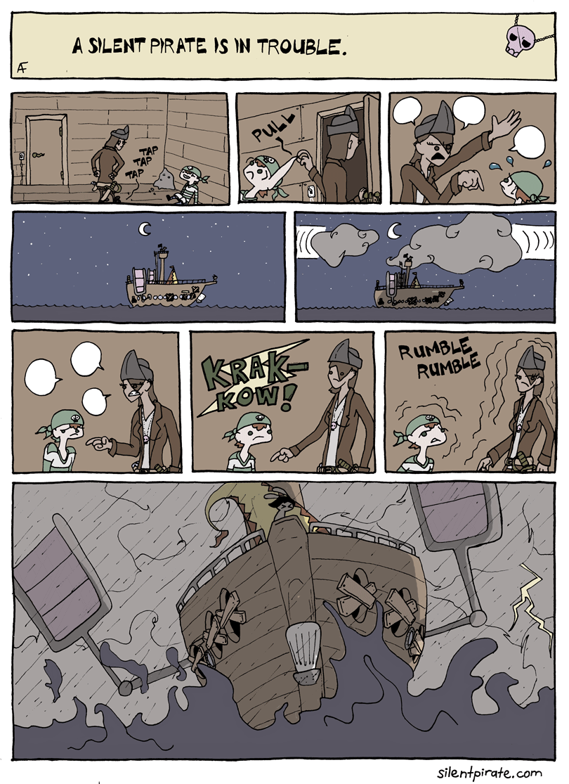 Silent Pirate, Chapter 4, Page 14