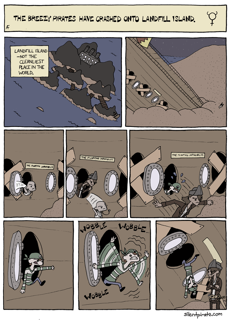 Silent Pirate, Chapter 5, Page 1