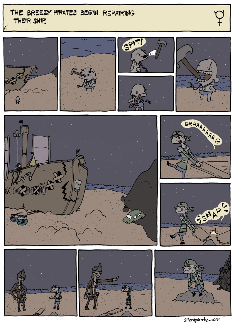 Silent Pirate, Chapter 5, Page 2