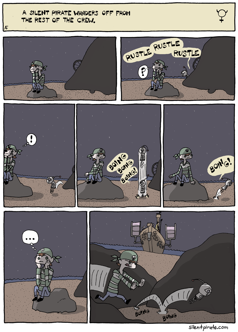 Silent Pirate, Chapter 5, Page 3