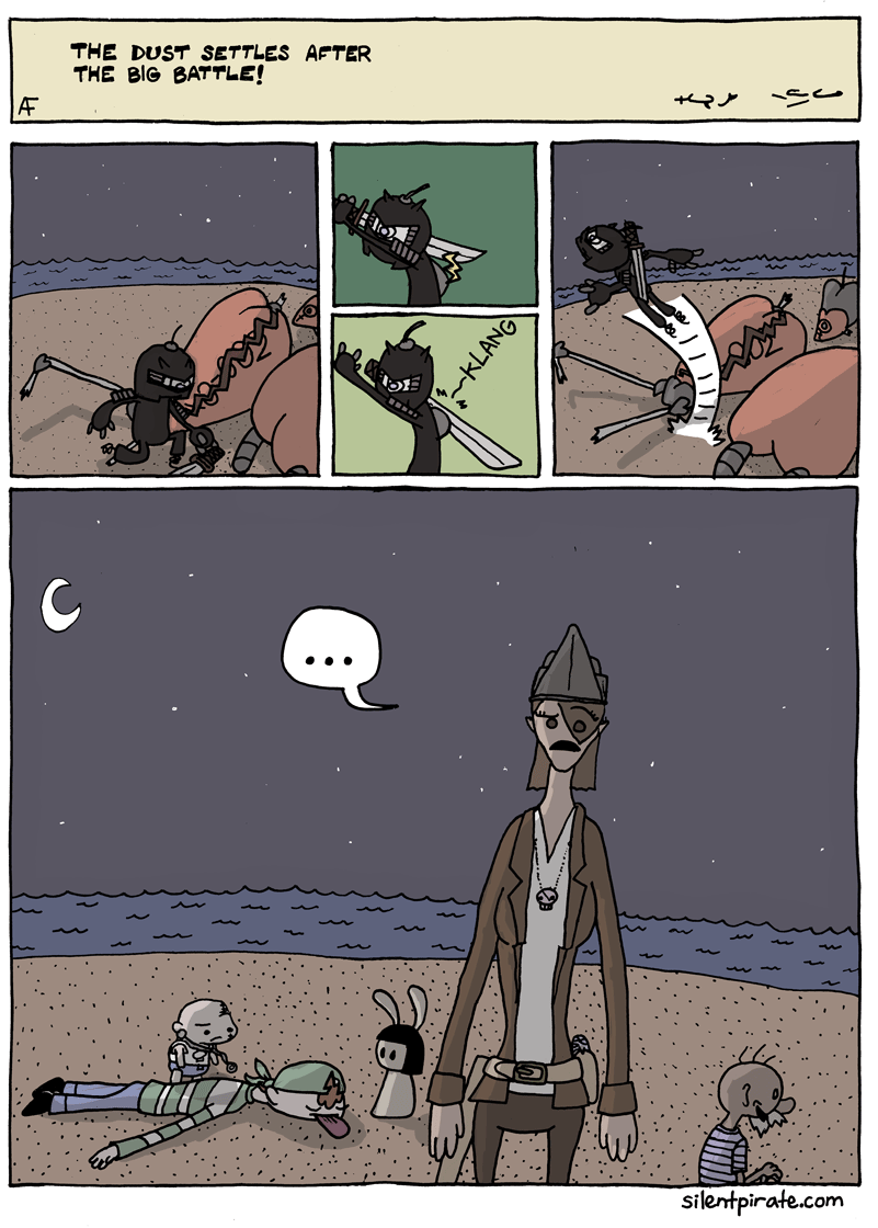 Silent Pirate, Chapter 6, Page 11