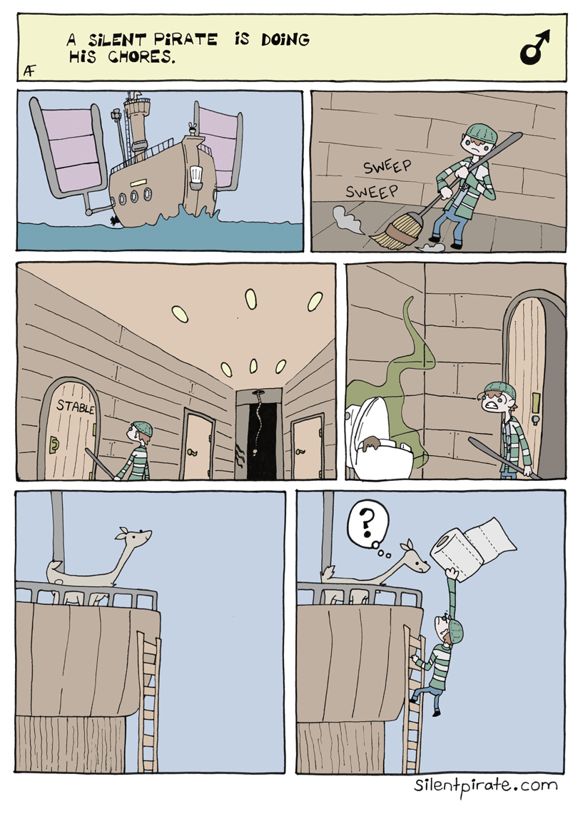 Silent Pirate, Chapter 8, Page 1