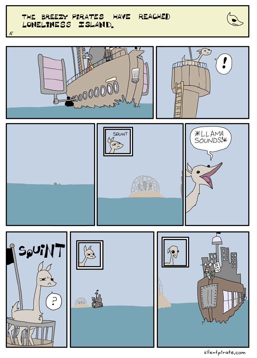 Silent Pirate, Chapter 14, Page 1