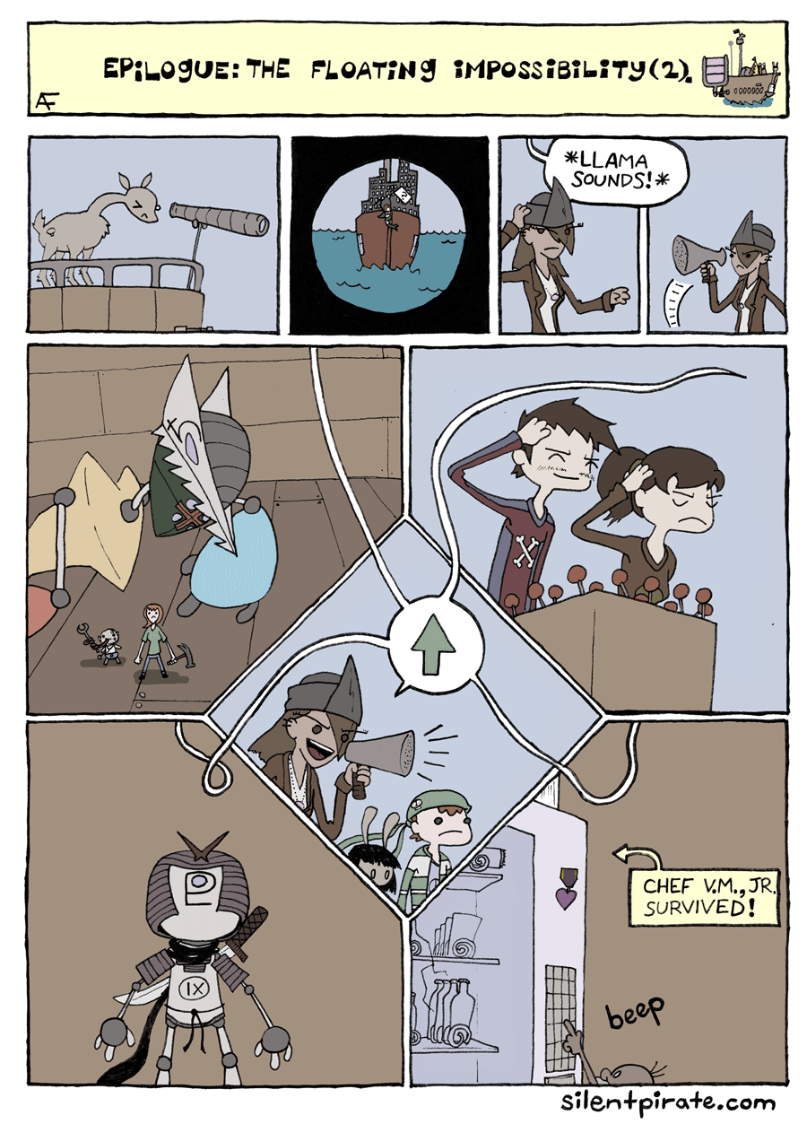 Silent Pirate, Epilogue, Page 2